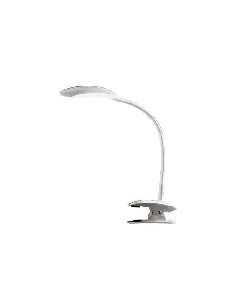 PERENZ: Lampada led da tavolo con pinza bianca in offerta