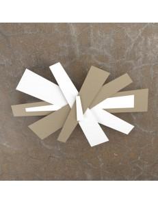 TOP LIGHT: Ribbon plafoniera LED bianco moderna sabbia 65cm in offerta