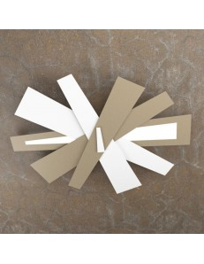 TOP LIGHT: Ribbon plafoniera LED bianco sabbia 85cm in offerta
