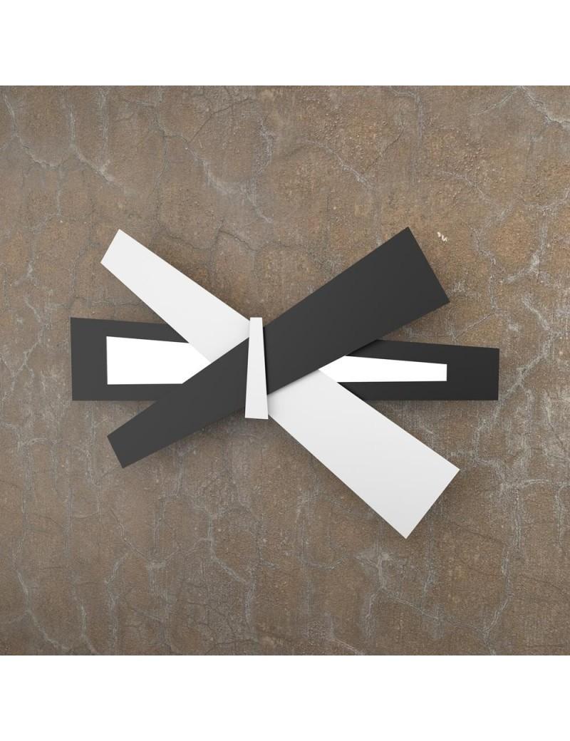TOP LIGHT: Ribbon applique LED bianco nero 65cm in offerta