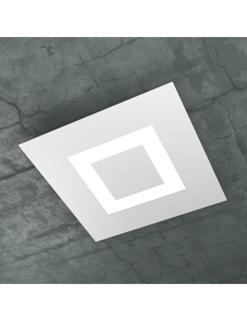 TOP LIGHT: Carpet plafoniera LED quadrata design slim bianco 40x40cm in offerta