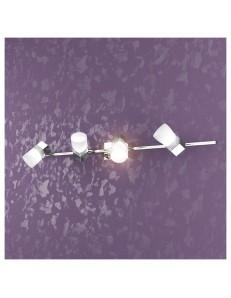 TOP LIGHT: Sunny 4 cubo luci applique faretto plafoniera cromo in offerta