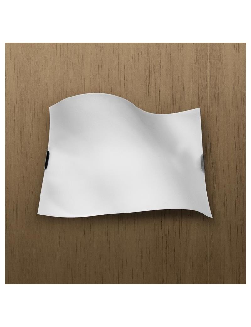 TOP LIGHT: Wing lampada soffitto lastra metallo curvo bianco satinato in offerta