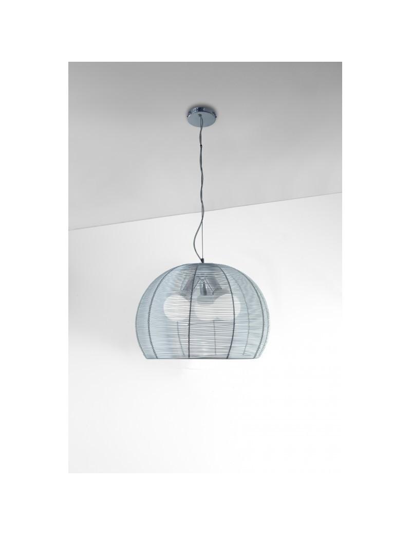 TOP LIGHT: Basket lampada sospensione sfera con fili in alluminio 50cm in offerta