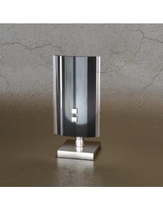 TOP LIGHT: Shadow lume nera lumetto in metallo con lastra extrachiaro in offerta