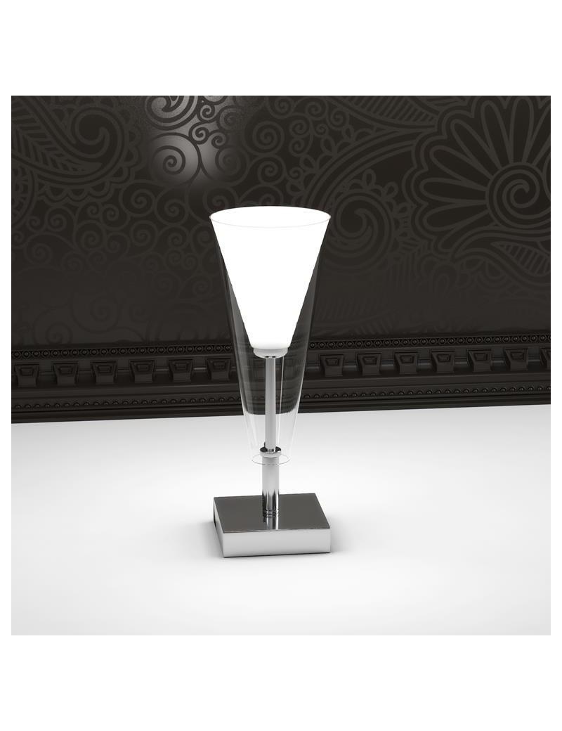 TOP LIGHT: Bullet lumetto a forma di cono in pyrex trasparente in offerta
