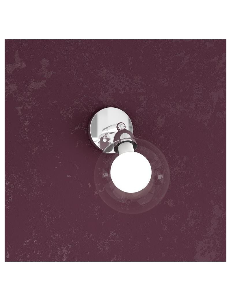 TOP LIGHT: Willow faretto regolabile forma sfera bianco struttura metallo in offerta