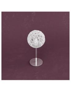 Willow lume con sfera gomitoli di alluminio