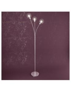 TOP LIGHT: Willow piantana moderna struttura metallo diffusori 3 sfere trasparente in offerta