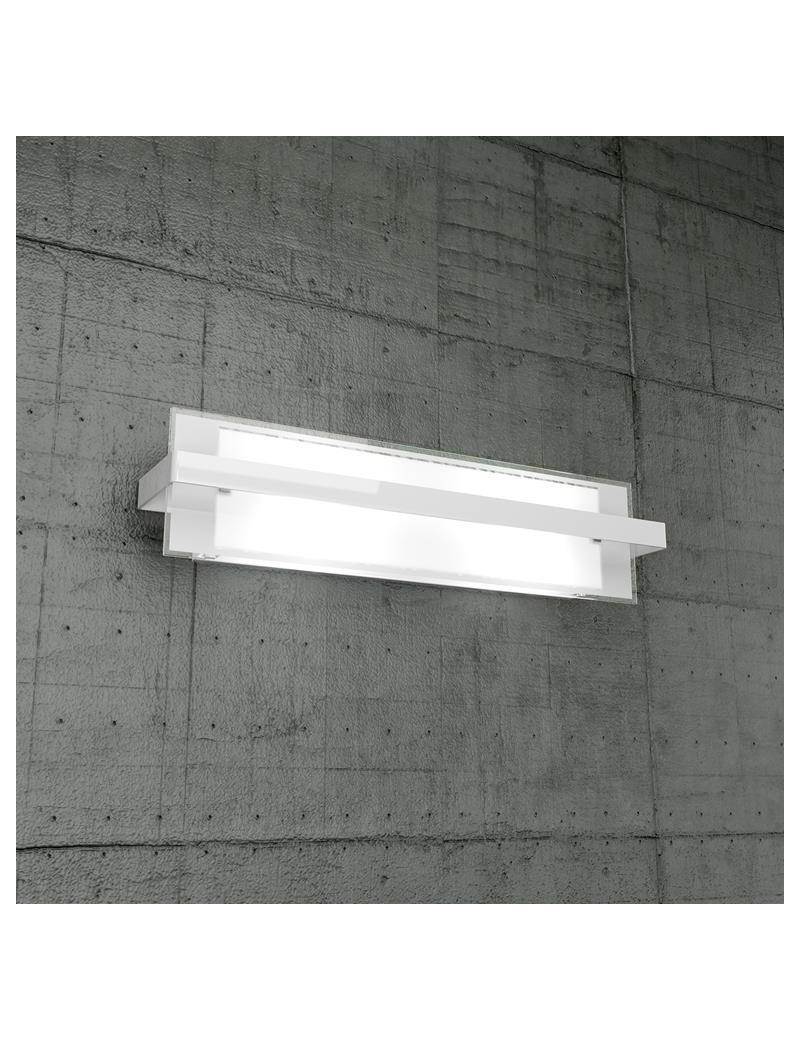 TOP LIGHT: Cross applique grande in metallo con fascia bianco per soggiorno in offerta