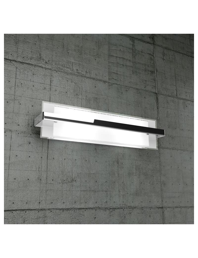 TOP LIGHT: Cross applique grande in metallo con fascia colore cromo soggiorno in offerta