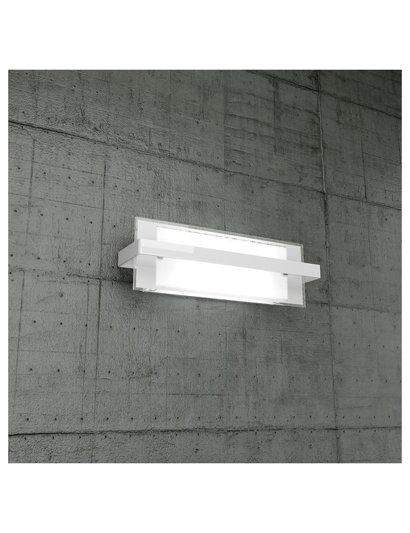 TOP LIGHT: Cross applique media in metallo con fascia bianca soggiorno in offerta