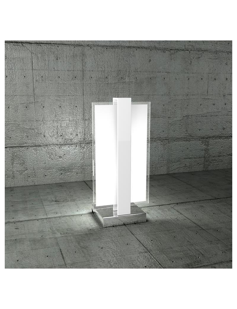 TOP LIGHT: Cross lume lumetto con fascia di decorazione bianco camera da letto in offerta