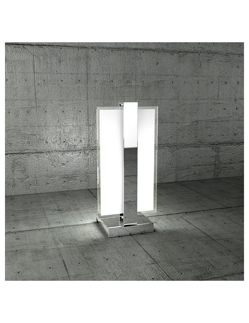 TOP LIGHT: Cross lume lumetto con fascia di decorazione cromo per camera da letto in offerta