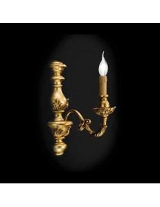 ONDALUCE: Agata lampada applique parete oro classico in offerta