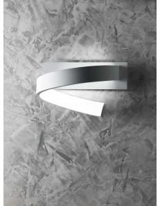 Nastro applique LED parete design spirale per ingresso