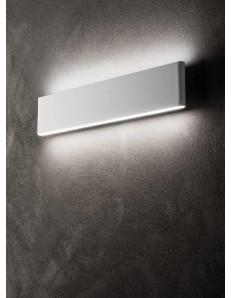 ONDALUCE: Applique LED metallo bianco forma rettangolare 40cm in offerta