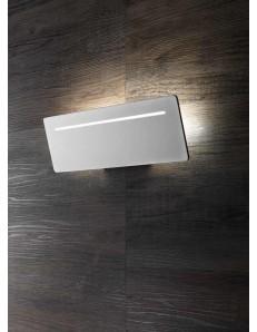 ONDALUCE: Sector applique LED rettangolare metallo bianco per corridoio 35cm in offerta