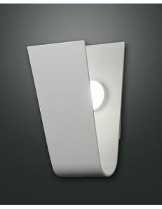 Bend applique LED 8 w lastra in metallo curvo bianco moderna ingresso camera bagno