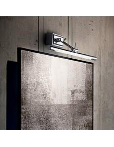 MR DESIGN: Lampada da quadro specchio cromo diffusore LED posizionabile 57cm in offerta