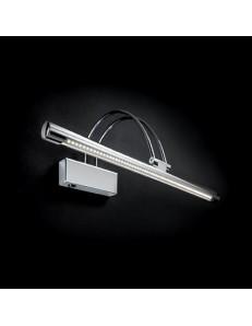 lampada da quadro specchio CROMO 76 cm diffusore ICLINABILE LED