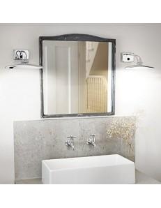 lampada da quadro specchio CROMO 25 cm diffusore posizionabile inclinabile