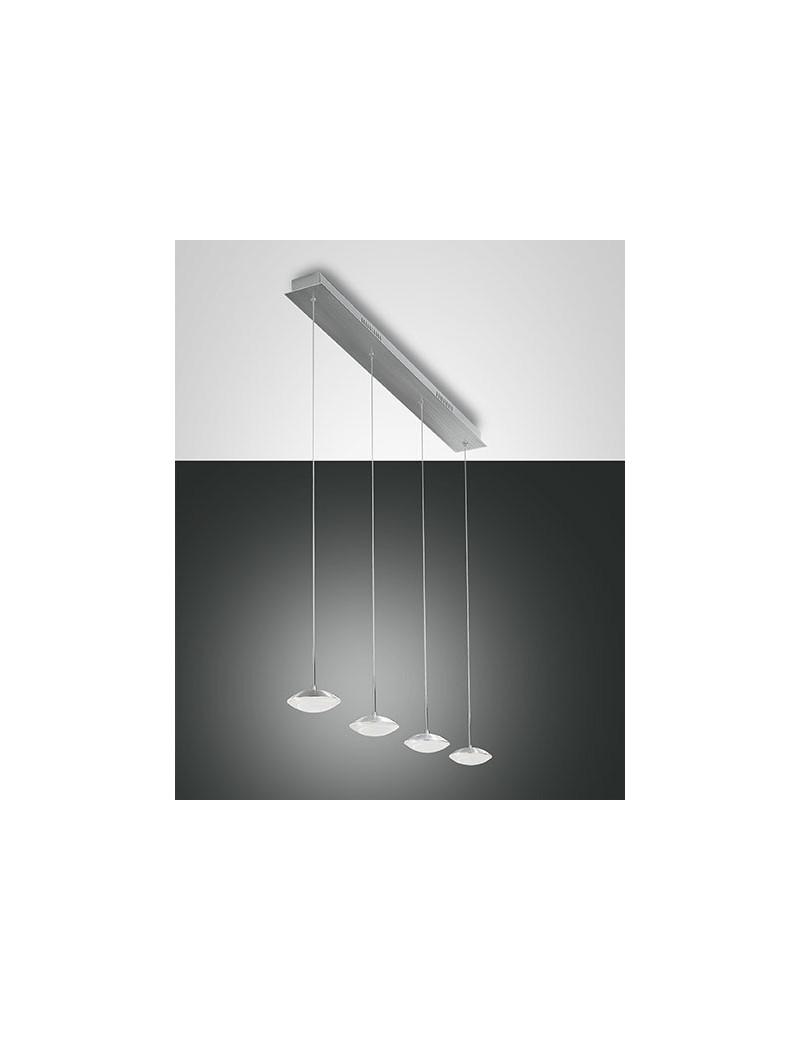 Hale led sospensione barra 4 luci alluminio penisola cucina bancone vetrina - Luci led sottopensili cucina ...