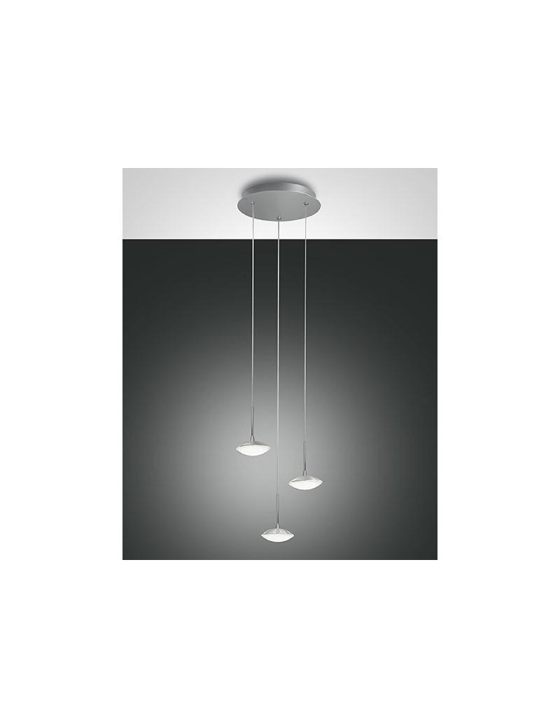 Hale led sospensione 3 luci alluminio 24 watt ingresso - Luci led per bagno ...