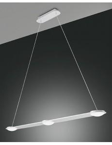 FABAS LUCE: Swan sospensione LED barra cucina penisola 3 luci bianco dimmerabile in offerta