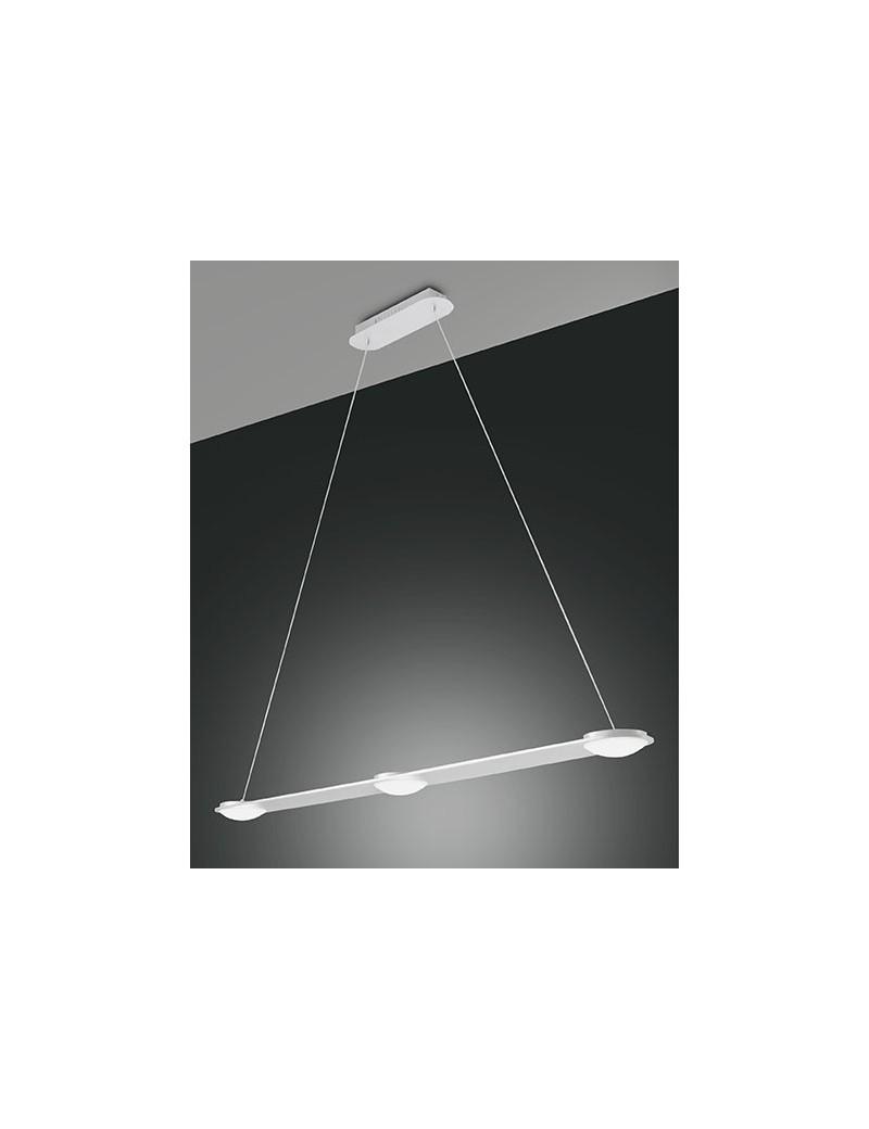 Swan led sospensione barra cucina penisola 3 luci bianco - Luci led cucina ...