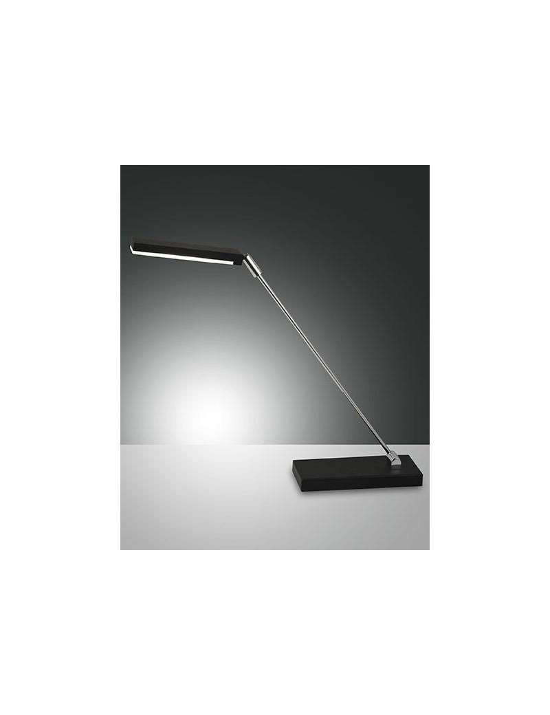 Lampada tavolo niki in metallo led nero 6w scrivania for Lampada scrivania ufficio