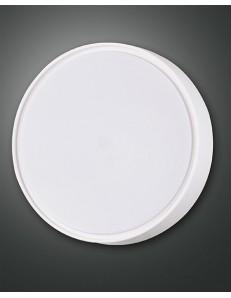 FABAS LUCE: Hatton plafoniera LED rotonda luce calda bianca 30cm in offerta