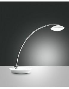 FABAS LUCE 3255-30-102 HALE LED LAMPADA DA TAVOLO H. 480 IN METALLO E METACRILATO REGOLAZIONE LUCE AL TOCCO