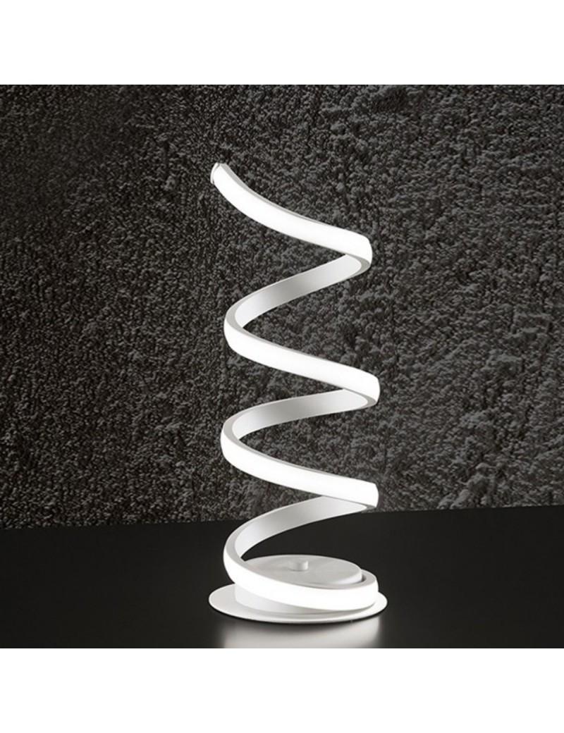 PERENZ: Abat jour moderna LED metallo bianco luce calda in offerta