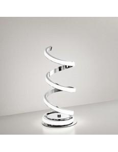 PERENZ: Abat jour LED moderna metallo cromo lucido luce calda in offerta