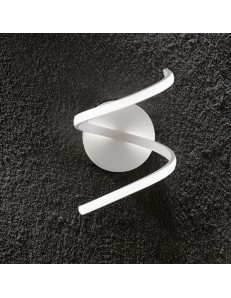 Perenz: Applique LED moderna metallo bianco luce calda in