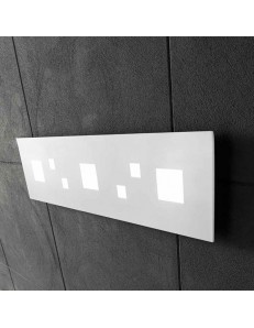 PERENZ: Plafoniera LED rettangolare 39w bianco luce calda in offerta