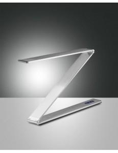 FABAS LUCE: Fitz lampada da tavolo LED alluminio regolazione al tocco metallo in offerta