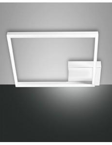 FABAS LUCE: Bard plafoniera LED quadrata moderna dimmerabile bianco in offerta
