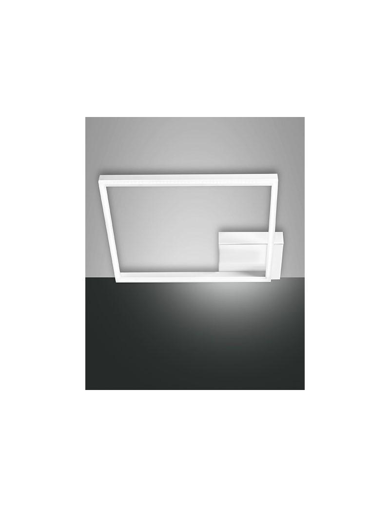 Plafoniera Quadrata A Led.Bard Plafoniera Led Quadrata Moderna Dimmerabile Bianco