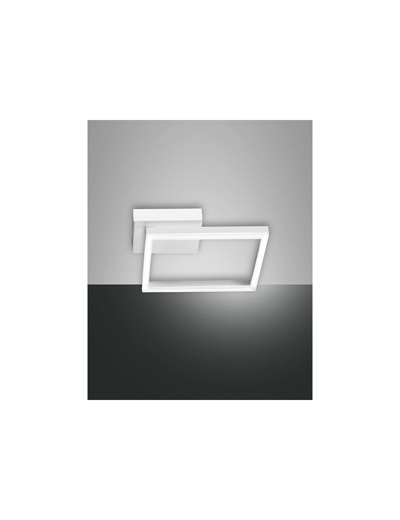 FABAS LUCE: Bard applique plafoniera LED quadrata dimmerabile bianco in offerta