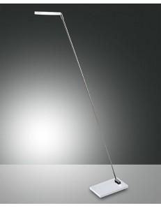 MODERNA INCLINABILE REGOLABILE LAMPADA DA TERRA IN METALLO NIKI LED BIANCA FABAS LUCE