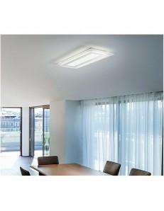 Plafoniera LED rettangolare luce naturale bianco