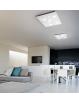 PERENZ: Plafoniera LED quadrata 69w bianco luce naturale 59,5 cm in offerta