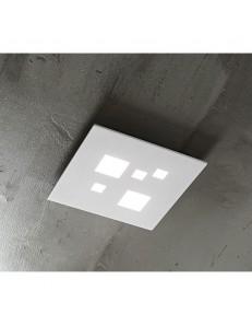 Plafoniera LED quadrata 27w bianco luce naturale 30cm