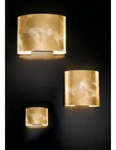 ROBBELAT 3 misure applique parete moderna decoro oro antealuce corridoio ingresso camera soggiorno