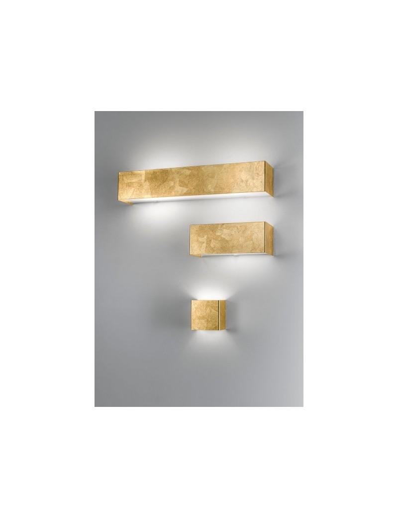 GOLDIE 3 misure applique parete moderna decoro oro antealuce corridoio