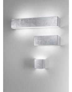 silver 3 misure applique parete moderna decoro argento antealuce corridoio ingresso camera soggiorno