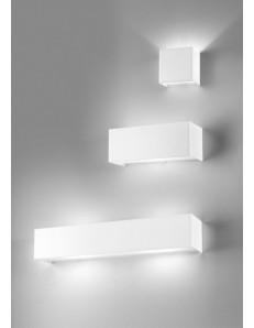 LINEAR METAL 3 misure applique parete moderna antealuce RETTANGOLARE QUADRATA corridoio ingresso camera soggiorno