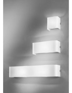 LINEAR white 3 misure applique parete moderna antealuce RETTANGOLARE QUADRATA corridoio ingresso camera soggiorno